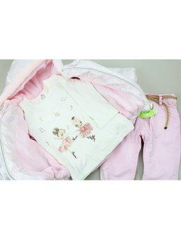 Compleu gros roz pal 9-18 luni cod: 3154