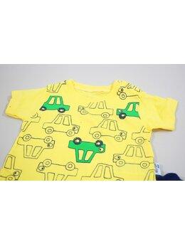 Compleu masinute culoare galben