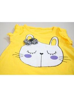 Compleu pisica cumintica galben