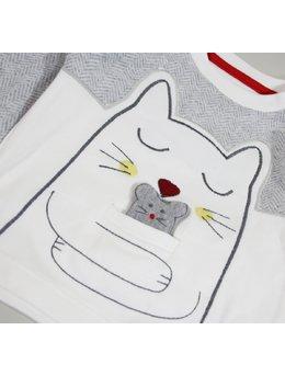 Compleu pisica+pui