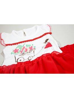 Compleu rosu rochita cu colant