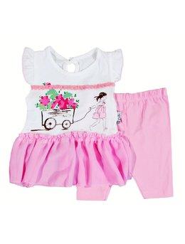 Compleu roz rochita cu colant