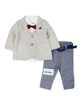 Costum elegant 6-18 luni cod: 3001
