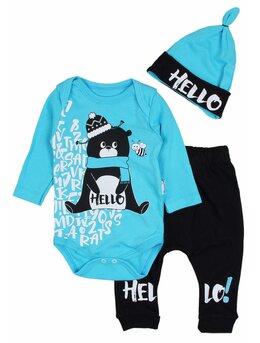 Costumas Hello bear turcoaz