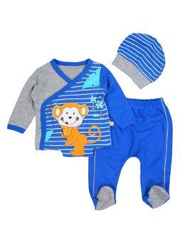 Costumas maimutica albastru