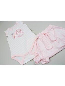 Costumas princess 2 piese roz