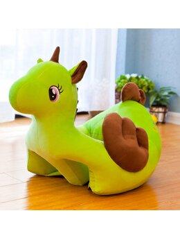 Fotoliu bebelusi unicorn galben