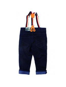Pantaloni cu bretele 9-24 luni B1696