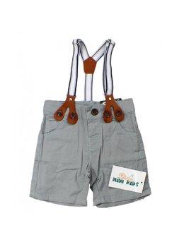 Pantaloni scurti cu bretele 3-24 luni B1535