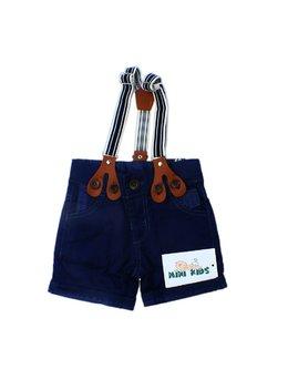Pantaloni scurti cu bretele 9-12 luni B1652