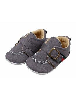 Pantofi eleganti gri inchis Darius
