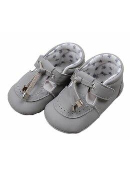 Pantofiori eleganti baby gri