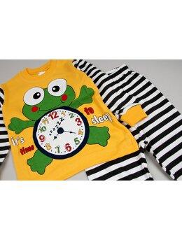 Pijama galben broscuta