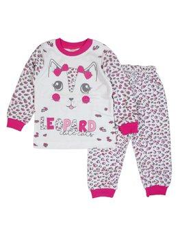 Pijama leopard ciclam