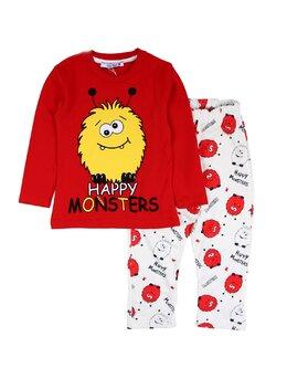 Pijama lux rosu