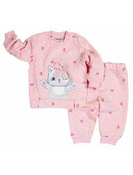Pijama Pis-Pis coral