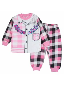 Pijama Super Mini roz