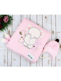 Port bebe Minky Dot roz cod: 9-540