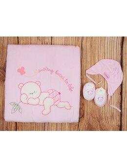 Port bebe-paturica model roz