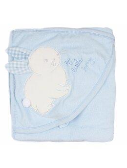 Prosop baie iepuras baby bleu