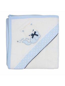 Prosop baie pisicuta bleu