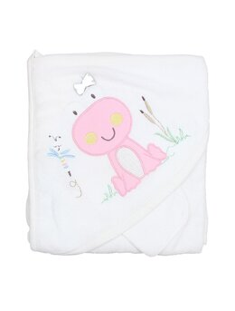 Prosop bebelusi alb broscuta roz