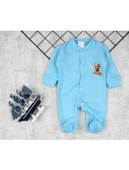 Salopeta baby bleu