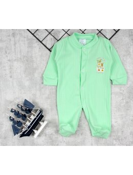Salopeta baby verde