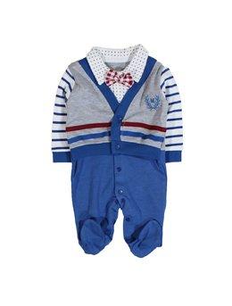 Salopeta little boy albastru