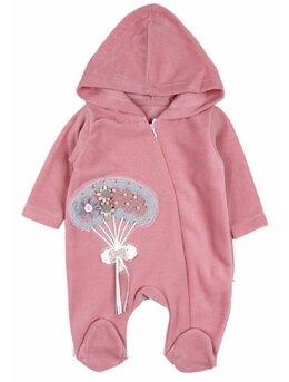 Salopeta polar flexi girl roz prafuit