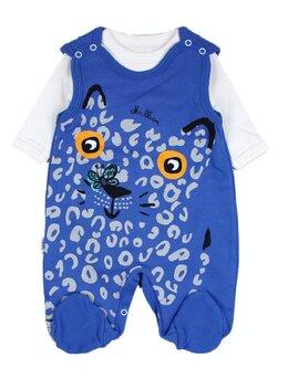 Salopetica Million cat albastru