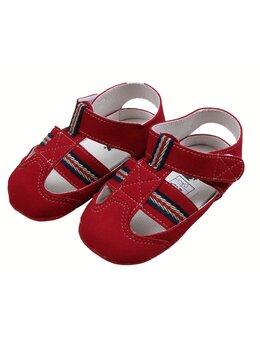 Sandale baietei model rosu