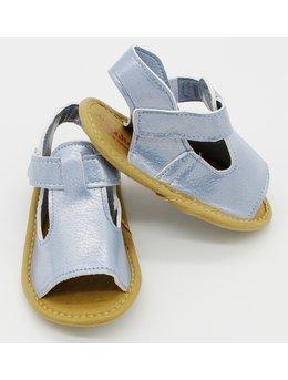 Sandale bleu elegante