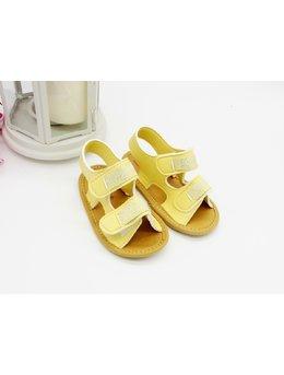Sandale cu scipici galben