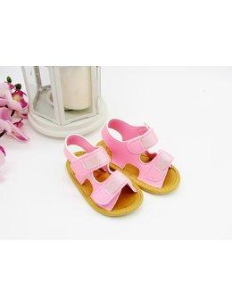 Sandale cu scipici roz