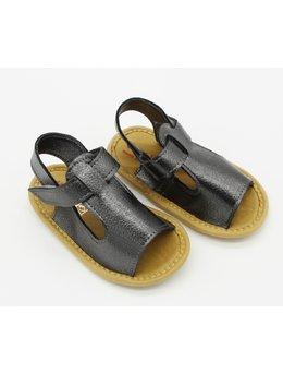 Sandale negre elegante