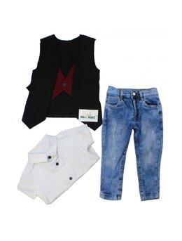 Set fashion baietei 1 - 4 ani B1613