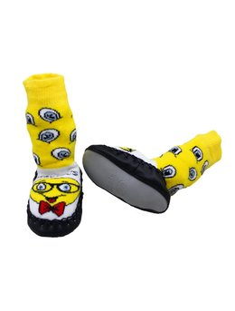 Sosete mocasini smiley cod: 5124