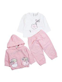 Trening pisicute roz 0-12 luni cod: 7408