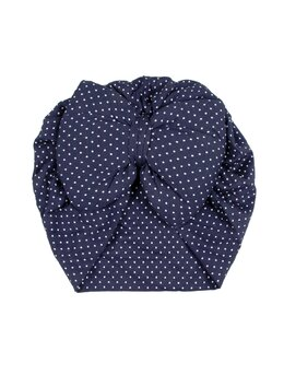 Turban bleumarin cu buline model 43