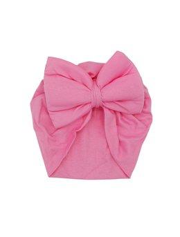 Turban roz simplu model 44