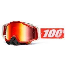 Ochelari moto cross-enduro 100% RACECRAFT FIRE RED