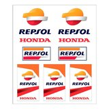 Set stickere medium Repsol Honda