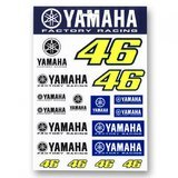 Sticker VR46 DUAL YAMAHA