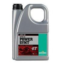 Ulei MOTOREX POWER SYNT 4T 10W60 4L