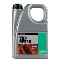 Ulei MOTOREX TOP SPEED 4T 15W50 4L