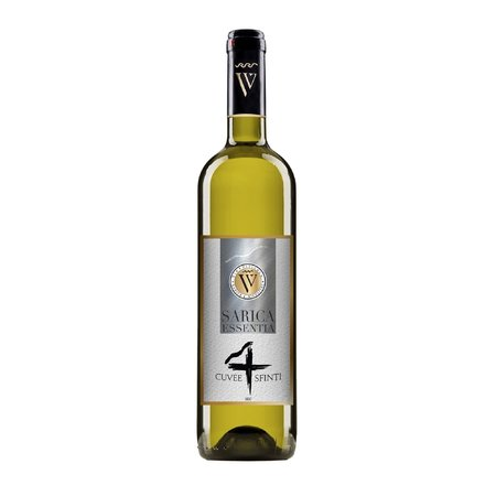 Cuvee 4 Sfinti Alb -  Sauvignon Blanc & Rhein Riesling & Chardonnay & Aligote  0.75 L