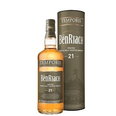 The Benriach Peated Curiositas 21 YO 0.7L