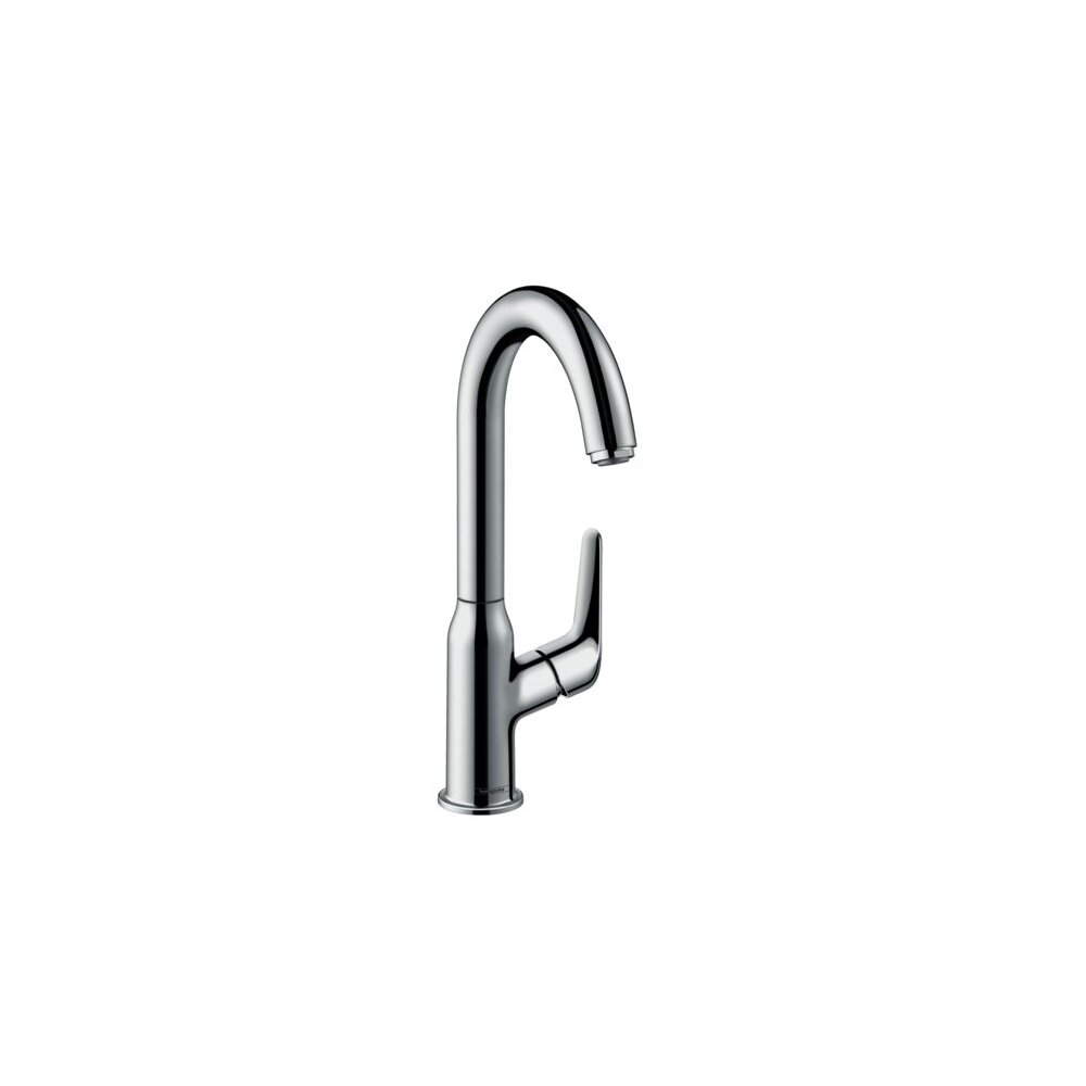 Baterie lavoar Hansgrohe Novus 240 cu pipa rotativa si ventil pop-up imagine