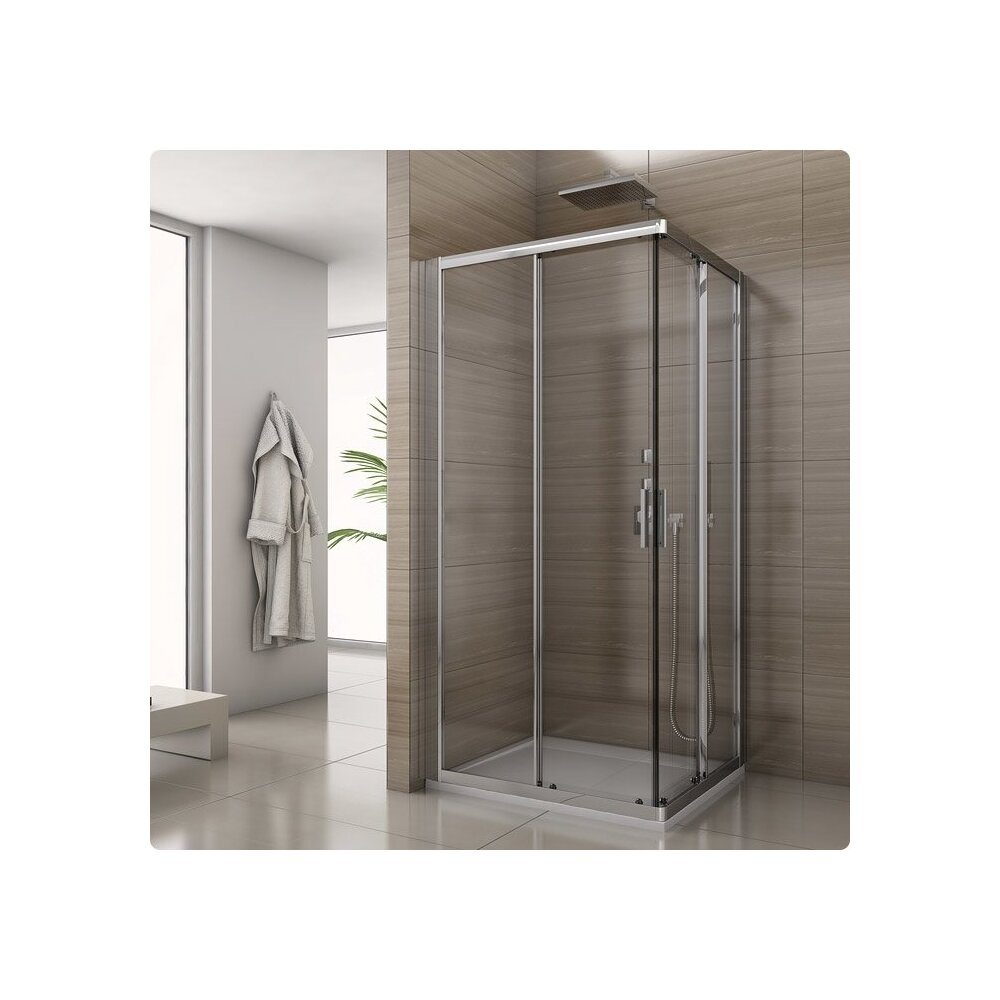 Cabina de dus patrata SanSwiss Salia SAE2 90x90 sticla securizata 6mm imagine